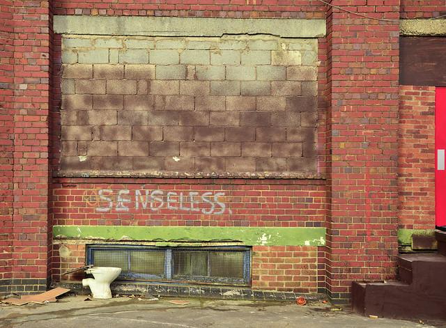 Senseless, Digbeth, Birmingham UK