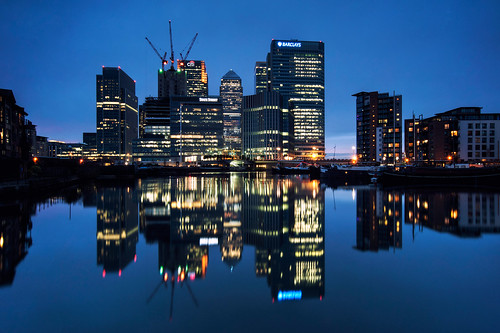 Docklands Blue (Explore #1)