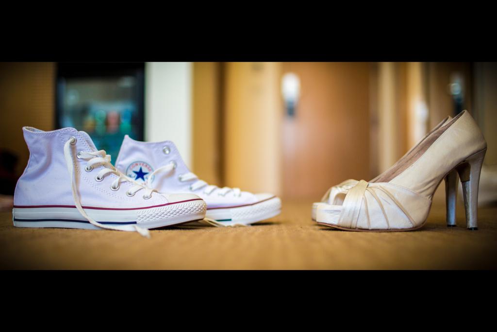 f0973b6efb1f by Wael G. Converse vs. high heels