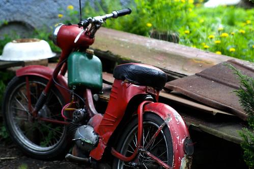 old motobike