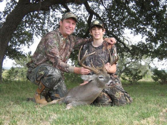 Texas Free Range Deer Hunt - San Angelo - Anlters and