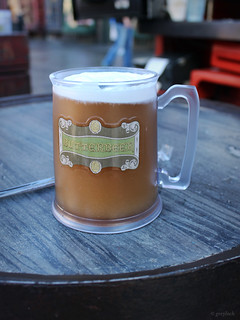 a mug of frozen butterbeer | by greyloch