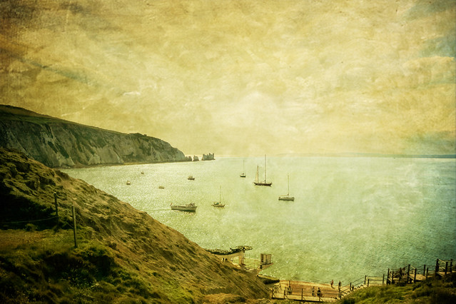 When Turner came to Alum Bay (#1 of 2)