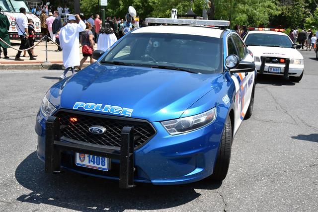 Westchester County Car 1408 - 2015 Ford Taurus Police Interceptor Sedan 062616 1