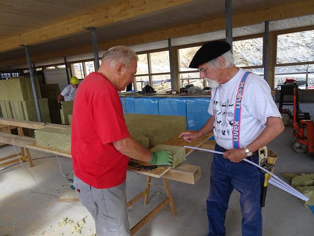 Kirchgemeinde-Aufbaulager 2016 Pany