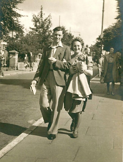 'Bournemouth, 1st Holiday after Chas.' Demob., 1946'