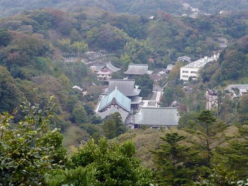 2012/11/11 (日) - 13:56 - 半僧坊より ー 建長寺
