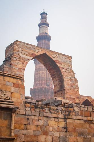 Qutab Minar, Delhi | by www.bhattacherjee.com