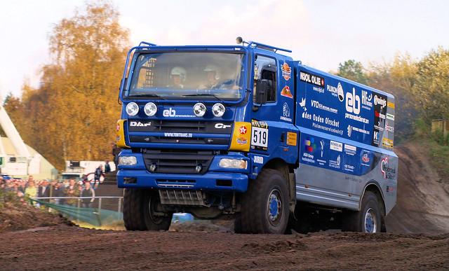 DAF CF,  Dakar Preproloog
