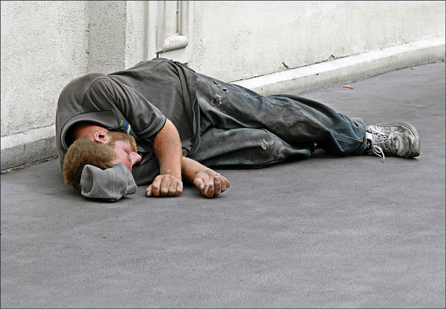 Another wasted life on the streets