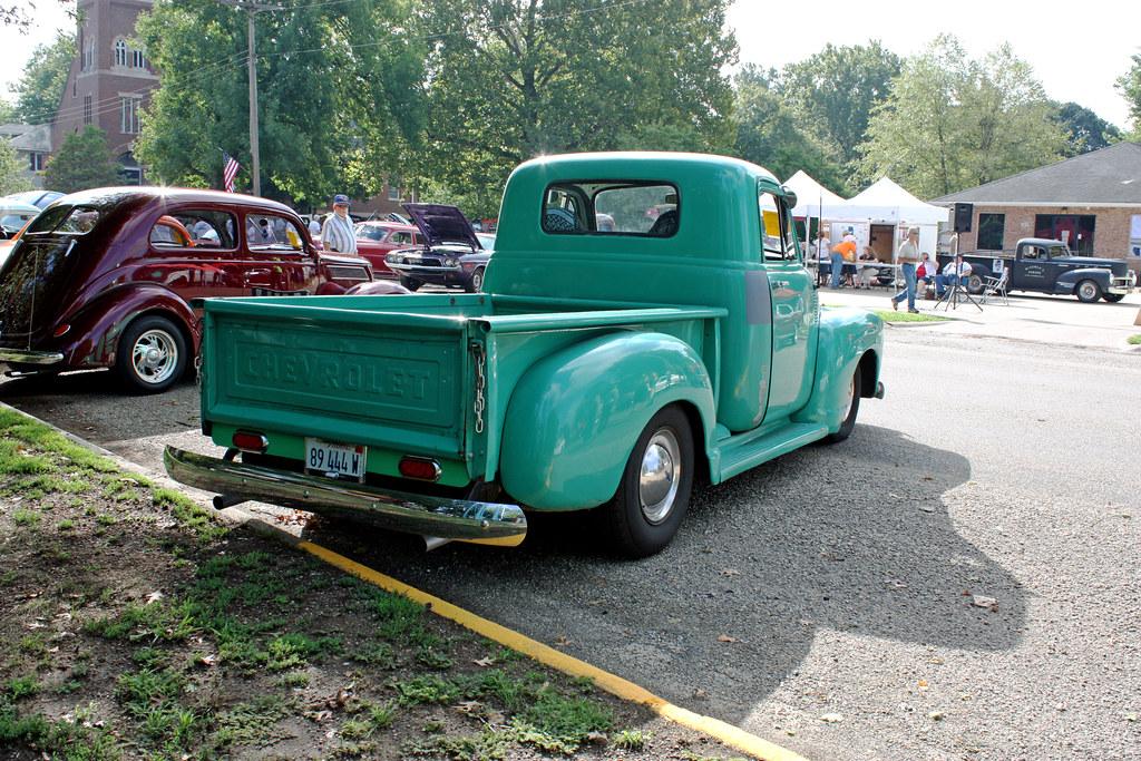 1955 Chevrolet First Series 3100 3-Window Half-Ton Pickup; First Pickup Truck