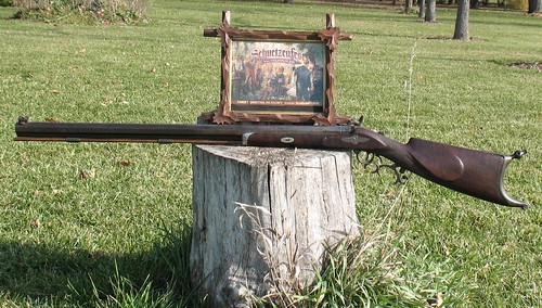 JOHN MEUNIER MILWAUKEE, WISCONSIN, Percussion Schuetzen Target Rifle