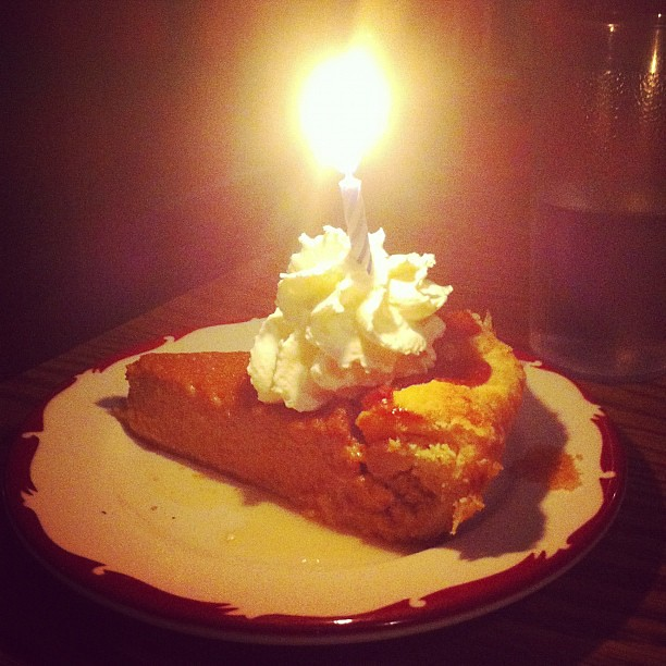 Remarkable Sweet Potato Pie Birthday Cake Carlos Pacheco Flickr Personalised Birthday Cards Veneteletsinfo