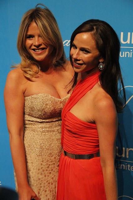 Jenna and Barbara Bush