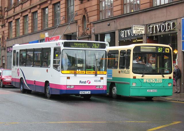 First Glasgow 48046 (N346CJA) McKindless JDZ2403