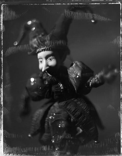 Venetian doll negative