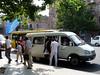Jerevan – maršrutka, dovnitř nacpou i 15 lidí a zvěř, foto: Petr Nejedlý
