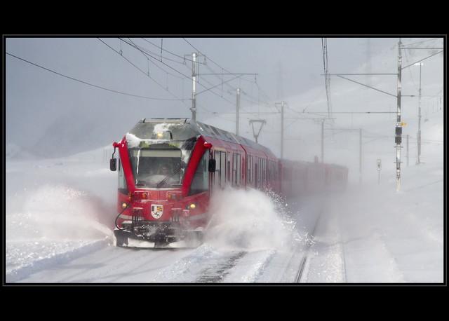 Bernina Express [Explored #6, 12.12.12]