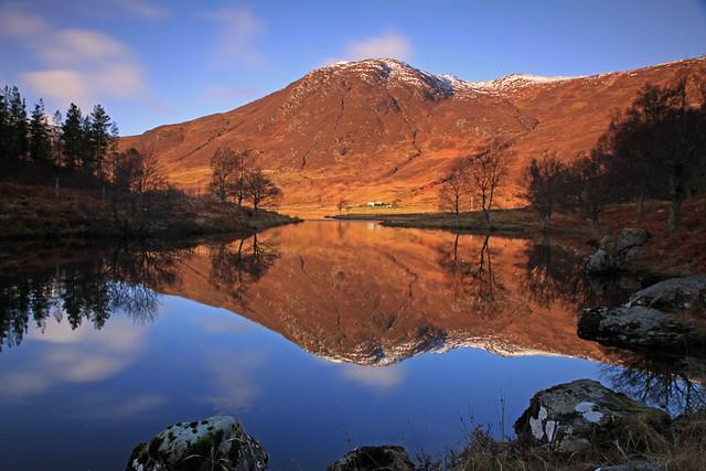 A Highland Hill Reflection.