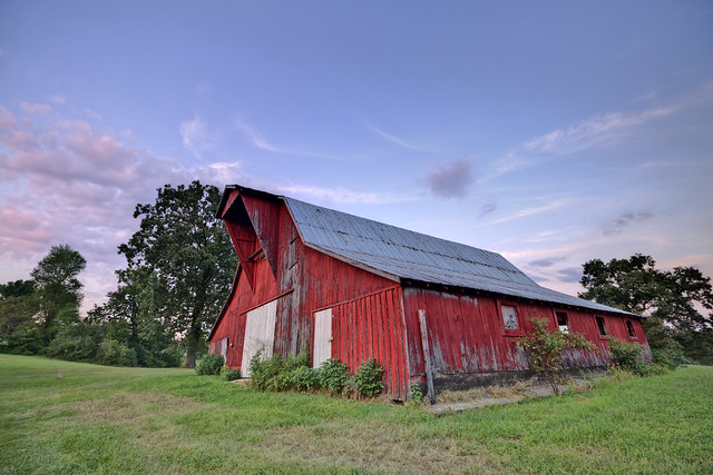 Barn, White County, Tennessee