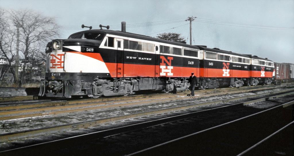 New Haven Railroad Der 2 Series Three Unit Set Of Alco Fa Flickr