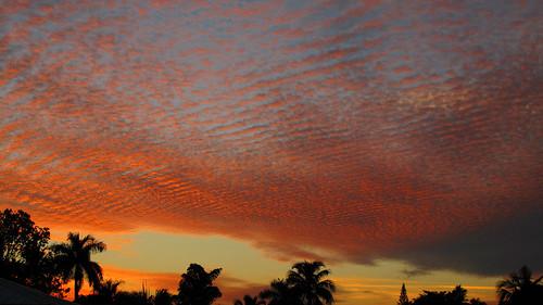 sunset beautiful clouds florida wideangle washboard swfl