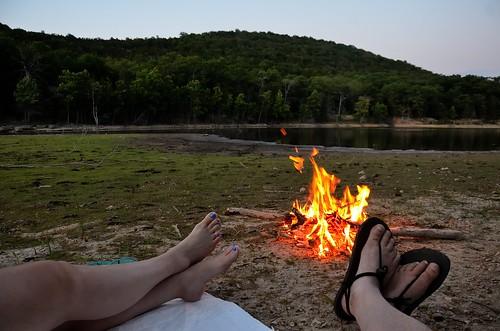 hiking campfire backpacking ozarks marktwainnationalforest barrycounty buckhollow pineycreekwilderness pineycreekwildernessjune2012