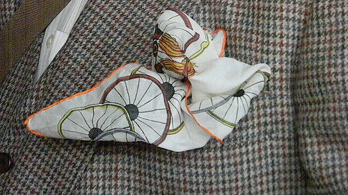 Bicycle Pocket Square