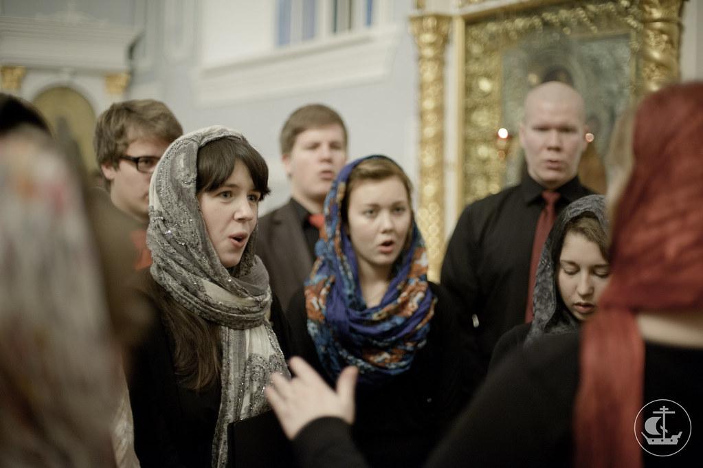 24 ноября 2012, Посещение Санкт-Петербургской Духовной Академии группой из Финляндии