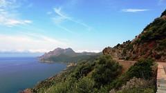 Вид на горы и море