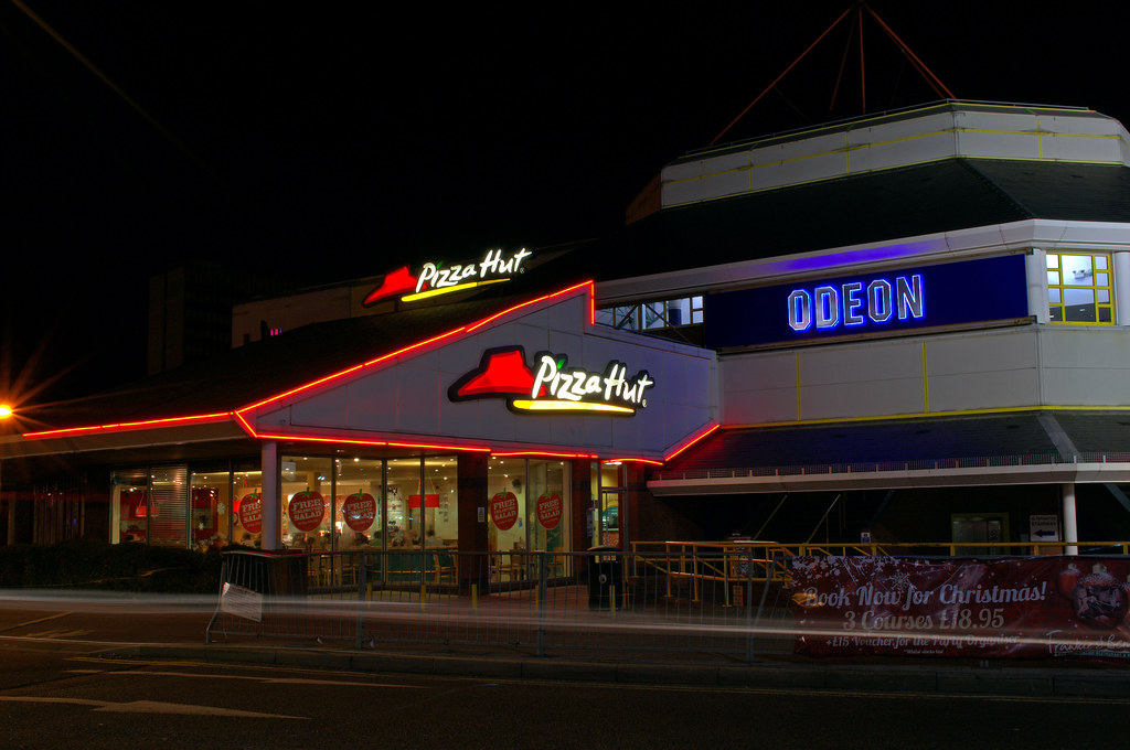 Pizza Hut And The Odeon Cinema The Point Skimped Hill