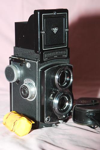 tlr film kodak 120film 1d lightmeter 70210mm euromaster westernmaster rolliecordk3d