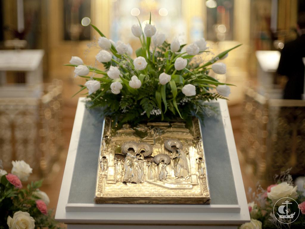 3-4 декабря 2012, Введение во храм Пресвятой Владычицы нашей Богородицы и Приснодевы Марии
