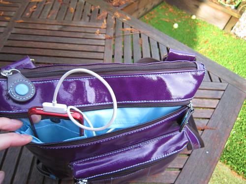 Front Pocket - Urban Junket's Jen Powered Crossbody iPad Bag | by ~kate~