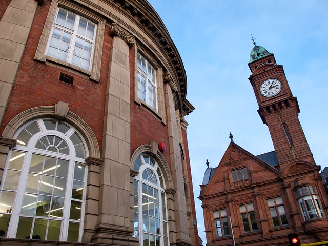 Walking around Dublin - Rathmines town hall and Library