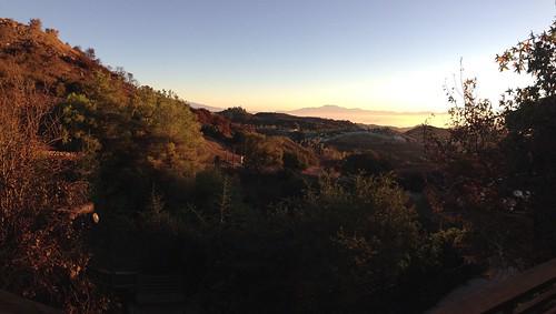 morning sunrise work