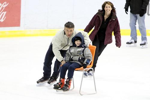 Principal's Holiday Skating Party