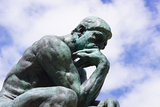 thinker | by freddie boy