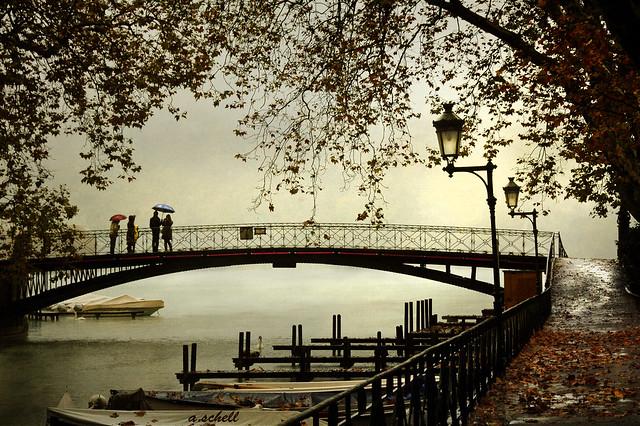 pont des amours - annecy