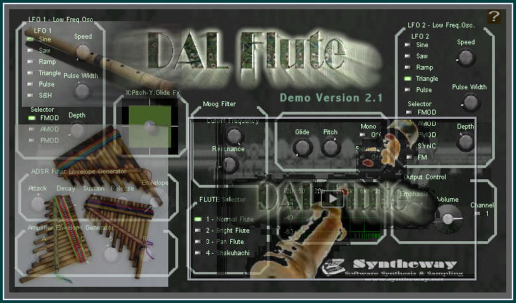 Virtual pan flute vst