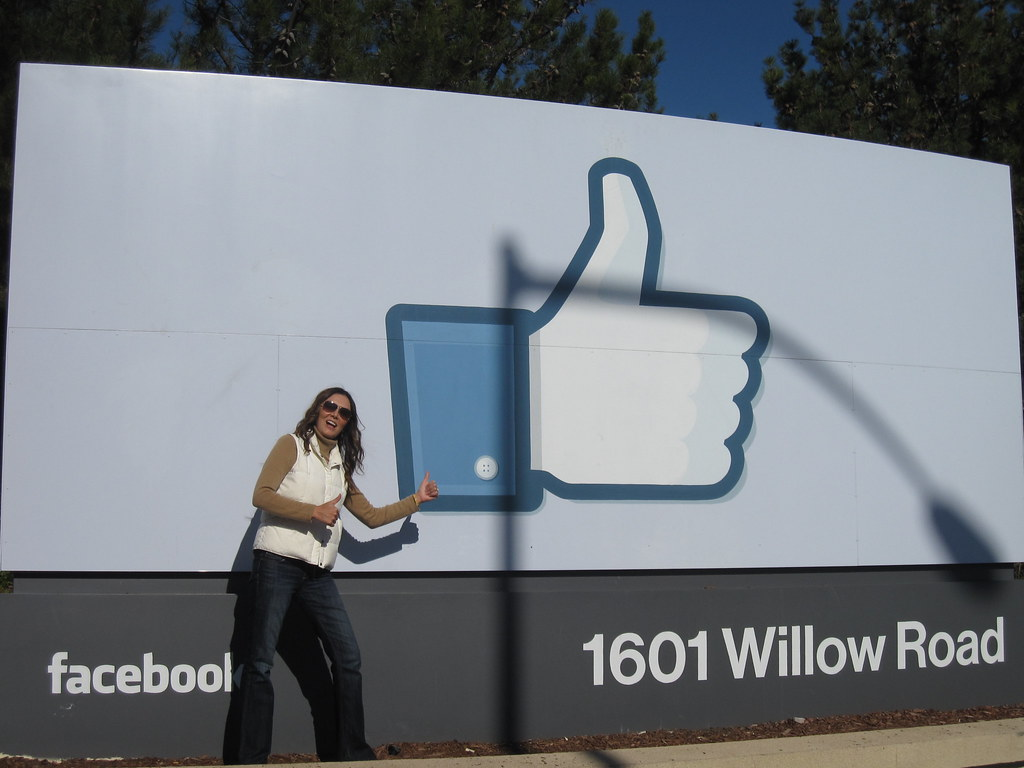 facebook headquarters like thumbs up | miz_nicole | Flickr