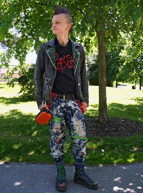 The Punk Rocker