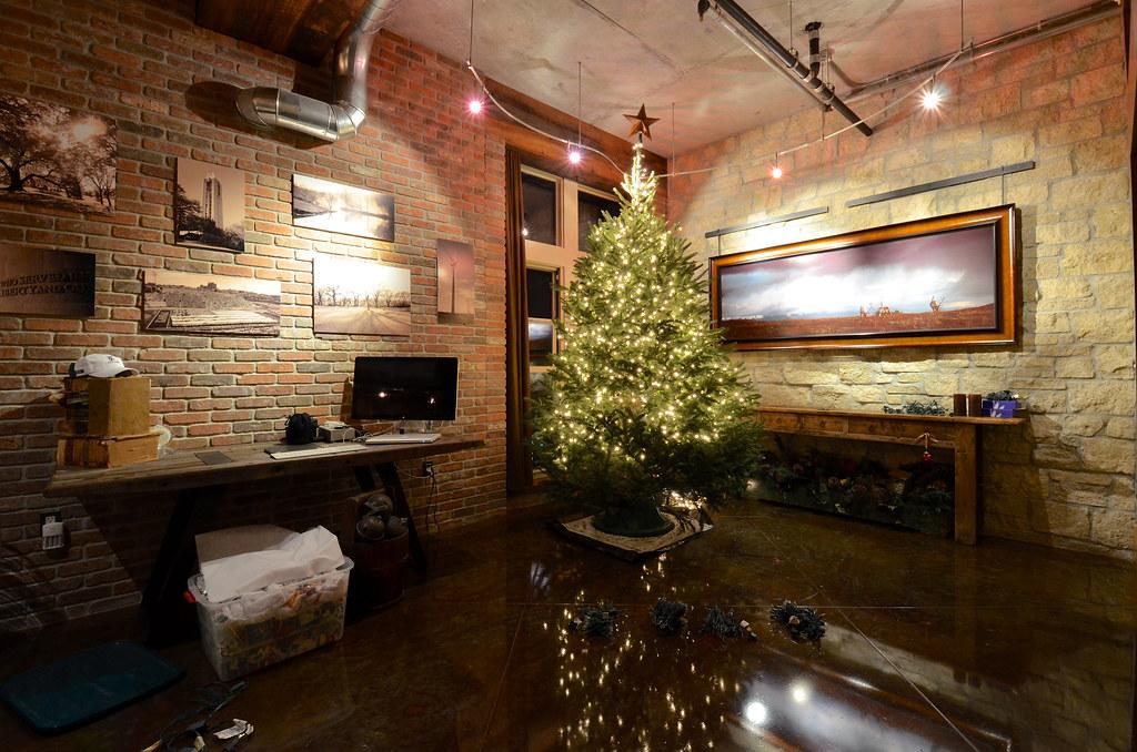 The Christmas Loft.The Christmas Loft 2012 The Christmas Tree Setup Flickr