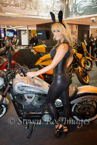 Motorcycle Live 2012  Candice Collyer  @CANDICE_COLLYER | by Steven Roe Images
