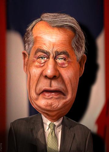 John Boehner - Caricature   by DonkeyHotey