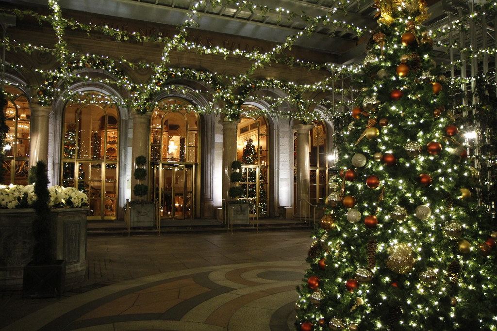 Christmas At The Palace.Christmas At The Palace Hotel Christmas In New York City I