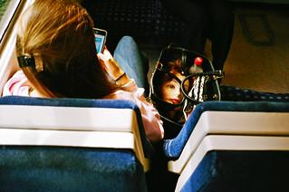 On the train to Nunhead