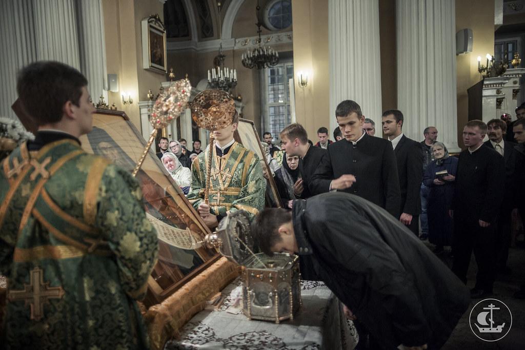 15 сентября 2016, Молебное пение перед мощами св. Силуана Афонского / 15 September 2016, Moleben at the relics of St. Silouan the Athonite