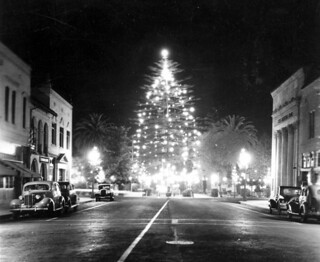 Downtown Orange, California, Dec. 1937 | by Orange County Archives