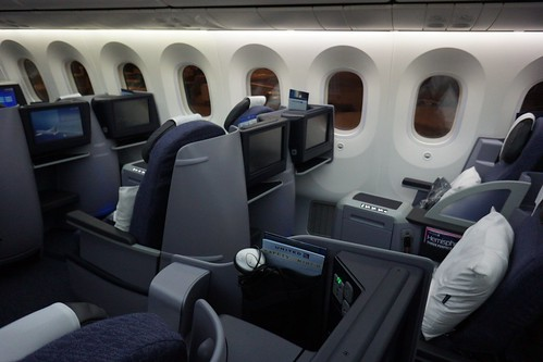 United 787 business class seats | by sfoskett